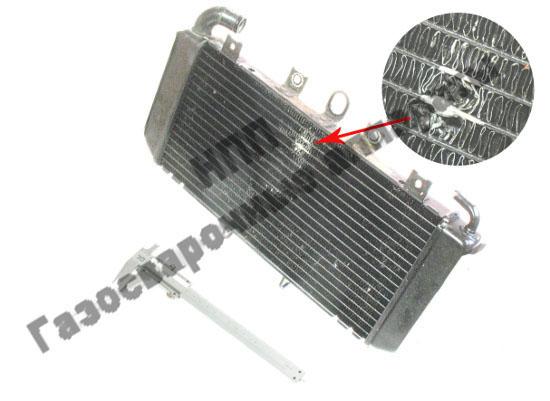 Радиатор охлаждения мотоцикла Honda