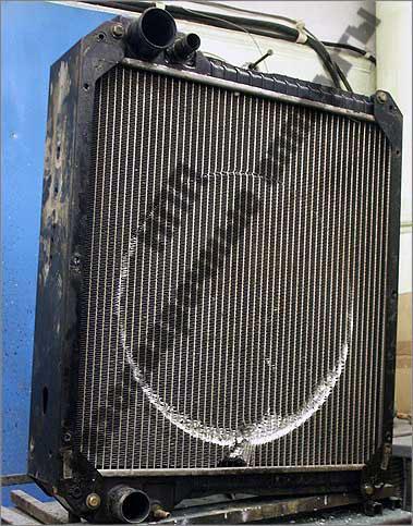 Алюминиевый многорядный радиатор охлаждения